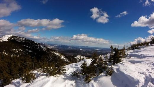 Snow Bench Lunch Views