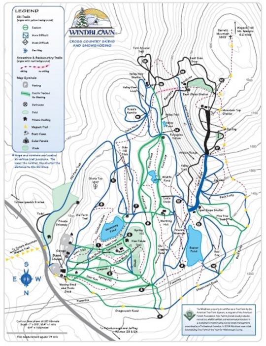 Windblown XC Map